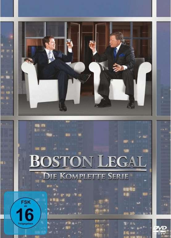 Boston Legal - die komplette Serie (DVD) für 24,99€ inkl. Versand (statt 36€)