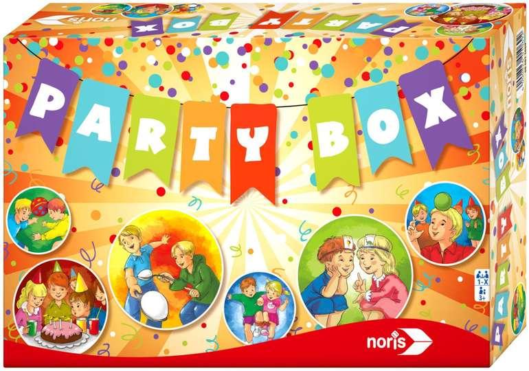 Noris Spiele Kinder Party Box für 8,51€ inkl. Versand (statt 15€) - Thalia Club!