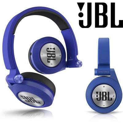 JBL Synchros E40BT Bluetooth-Kopfhörer in blau für 36,99€ inkl. Versand