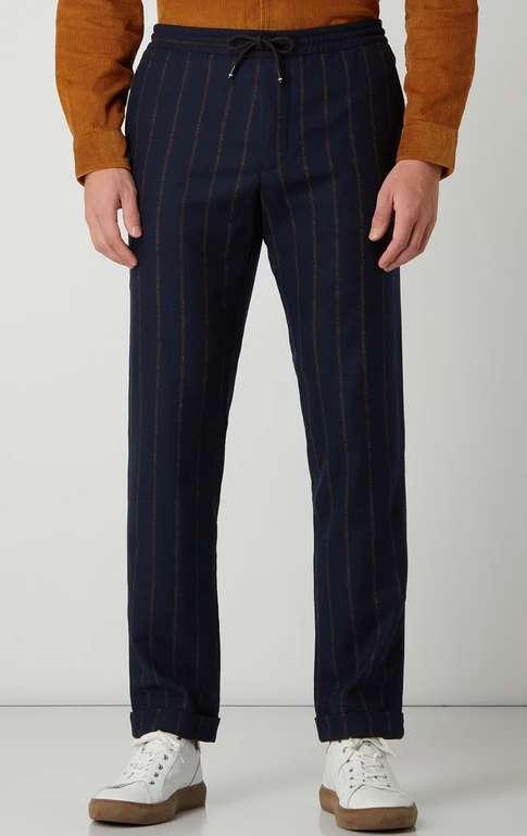 Tommy Hilfiger Easy Pants mit Streifenmuster in Marine für 60€ inkl. Versand (statt 104€)