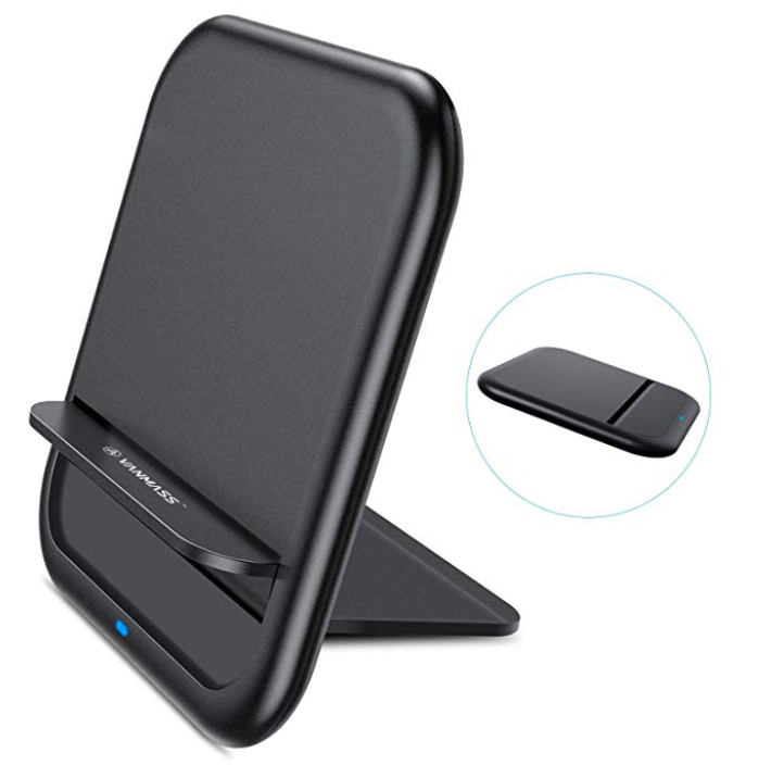 Vanmass Fast Wireless Charger Qi Ladestation für 5,29€ inkl. Prime Versand
