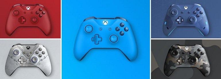 Xbox Wireless Controller in verschiedenen Designs