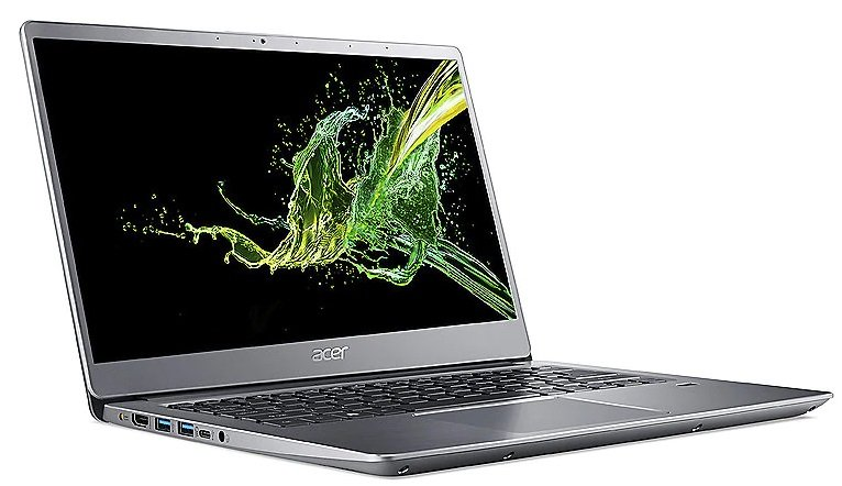 Acer Swift 3 (SF314-58-313T) - 14 Zoll Full HD IPS Notebook mit i3, 8GB RAM & 256GB SSD für 399€