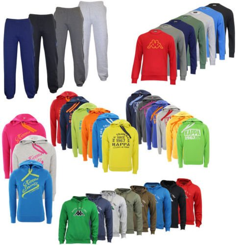 Kappa Hoodies, Sweatshirts, Jogginghosen und Pullover je nur 14,99€