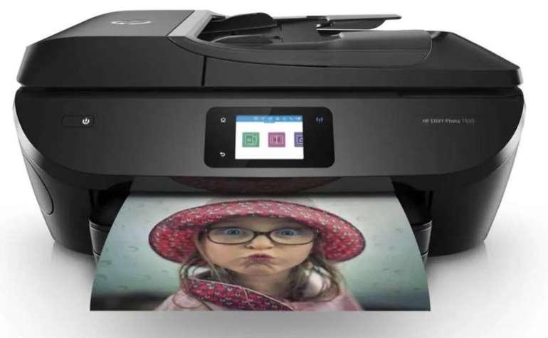 HP ENVY Photo 7830 Thermal Inkjet 4-in-1 Multifunktionsdrucker (WLAN, Netzwerkfähig, Duplex, LAN) für 119€