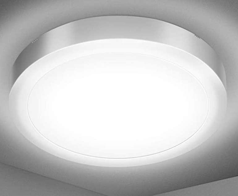 Efelandhome 18W LED Deckenlampe (5000K, IP54) für 11,99€ inkl. Prime Versand (statt 20€)