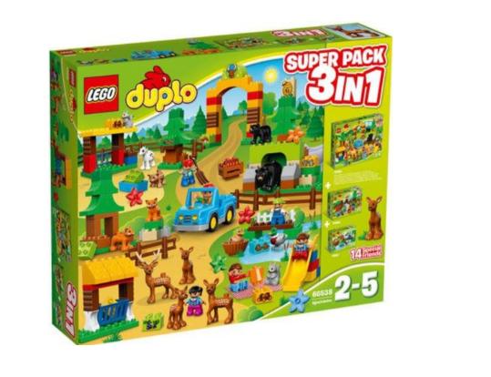 Lego Duplo (66538) Wildpark Super Pack 3-in-1 für 43€ inkl. Versand