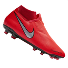 Nike Fußballschuh Phantom Vision Academy DynamicFit FG/MG in rot/silber für 26,98€ inkl. VSK