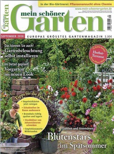 """12 Ausgaben """"Mein schöner Garten"""" für 51,60€ + 40€ Verrechnungsscheck + 6€ SEPA"""