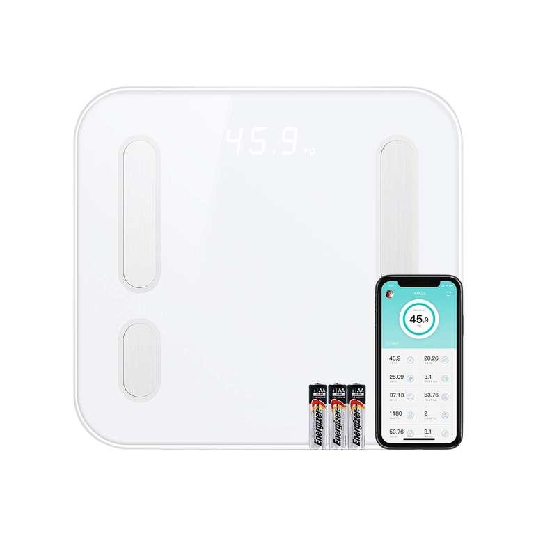 CooSpo Home Bluetooth Körperfettwaage mit App-Steuerung für 17,99€ (statt 36€)