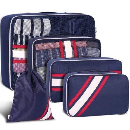 Yamtion 5-teiliges Kofferorganizer Set für 12,89€ mit Prime (statt 21,49€)