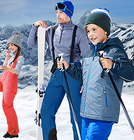 Tchibo Ski Sale mit bis -60% + 10% und VSK-frei ab 20€, z.B. Kinder Skijacke 26€