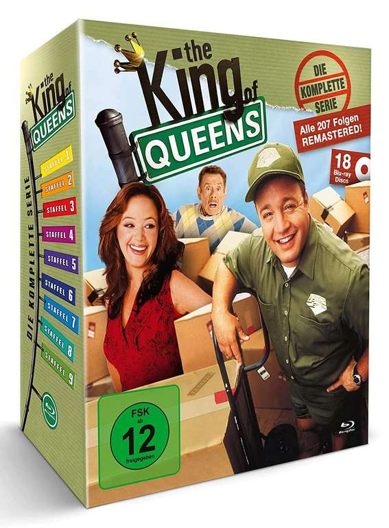 The King of Queens - Die komplette Serie - Queens Box (36 DVDs) für 22,78€ (statt 80€)