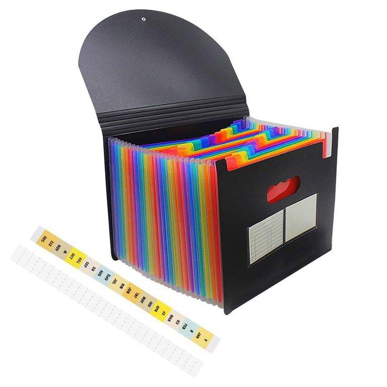Fanspack Dokumentenmappe (24 Fächer mit Deckel) für 9,29€ (Prime)