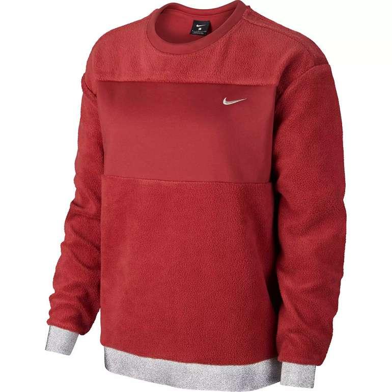 Nike Icon Clash Damen Sweatshirt in cedar-metallic gold für 31,11€ inkl. Versand
