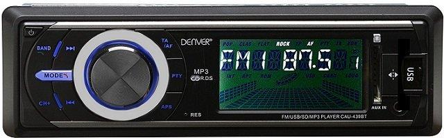 Denver CAU-439BT Bluetooth Autoradio für 34,95€ inkusive Versand (Statt: 44€)