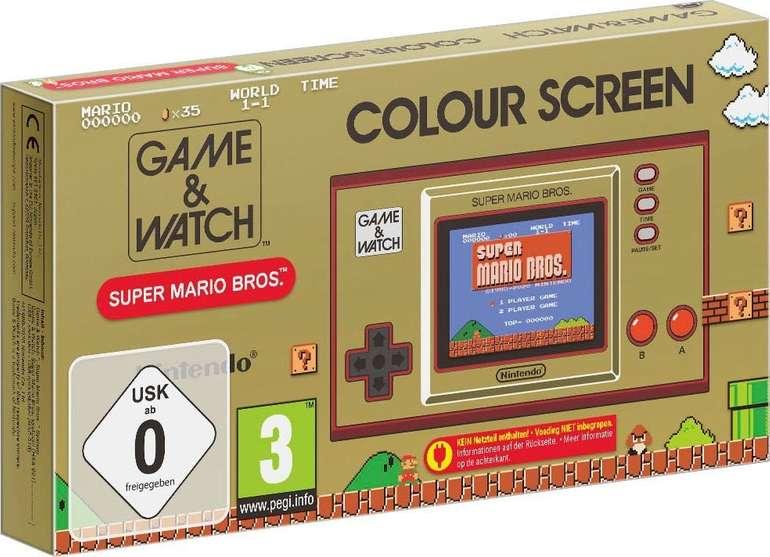 Vorbestellung: Nintendo Game & Watch Super Mario Bros. für 48,73€ bei Abholung (statt 58€)