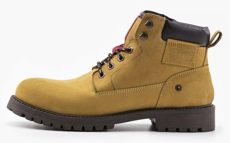 Levi's® Herren Boots (dunkelbraun oder gelb) für je 40,94€ inkl. Versand (statt 64€)