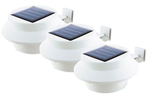 3x EASYmaxx LED Solar-Dachrinnenleuchten für 16,19€ inkl. Versand