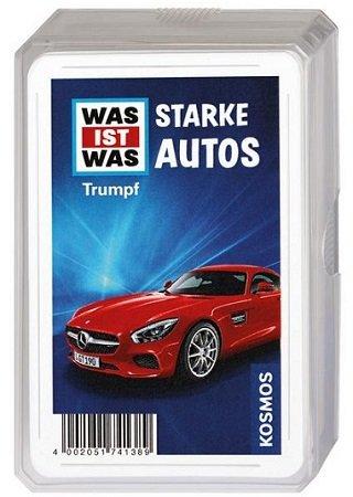 """Diverse Kartenspiele reduziert, z.B. Trumpfspiel """"Starke Autos"""" für 2,48€"""