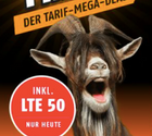 Klarmobil Allnetflat (Telekom Netz, 2GB LTE Datenvolumen) nur 9,99€ mtl.