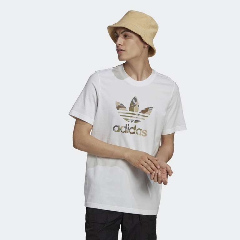 Adidas Originals Camo Trefoil Herren T-Shirt für 14,02€ inkl. Versand (statt 16€) - Creators Club!