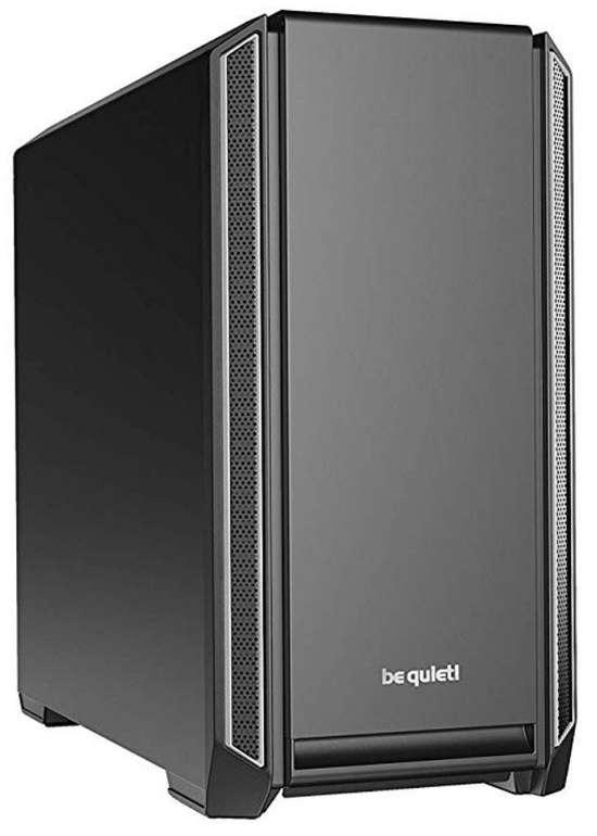 be quiet! Silent Base 601 Tower-Gehäuse in schwarz/silber für 91,89€ inkl. Versand (statt 110€)