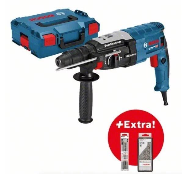 Bosch Bohrhammer GBH 2-28 F + L-BOXX + 6 Bohrer + 3 Meißel für 199€ inkl. Versand (statt 219€)