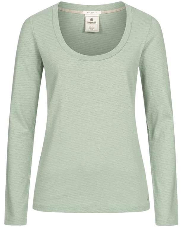 Timberland Camelia Damen Longsleeve Crew Top (versch. Farben) für je 13,94€ inkl. Versand (statt 20€)