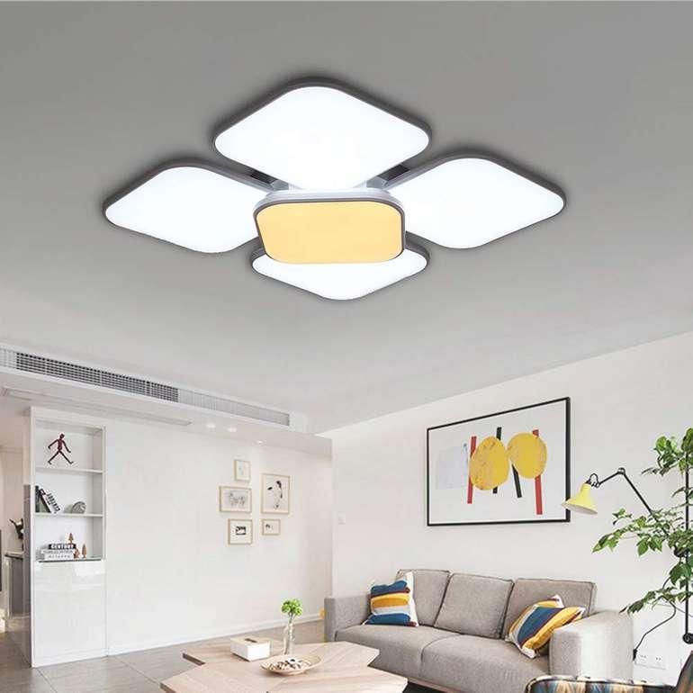 Wolketon LED Deckenleuchte (84 oder 90W) ab 49,82€ inkl. Versand (statt 100€)