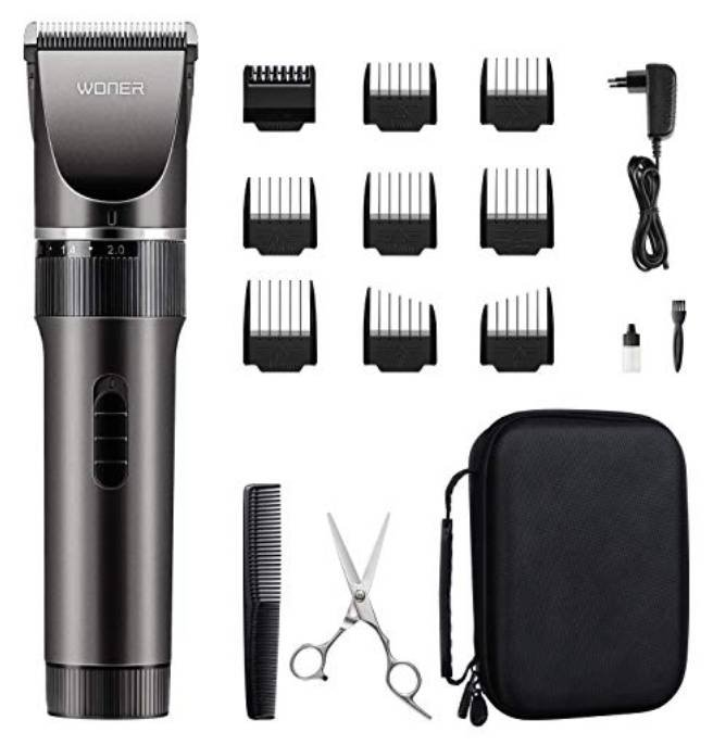 3 Woner Produkte günstiger auf Amazon, z.B. Woner Haarschneidemaschine ab 22,19€