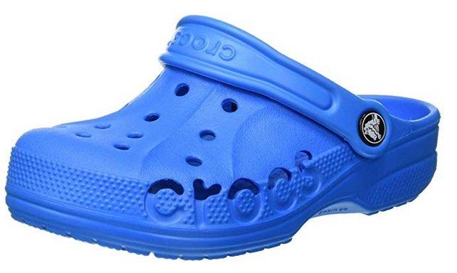 crocs Unisex-Kinder Baya Kids Clogs in Blau für 16,90€ inkl. VSK