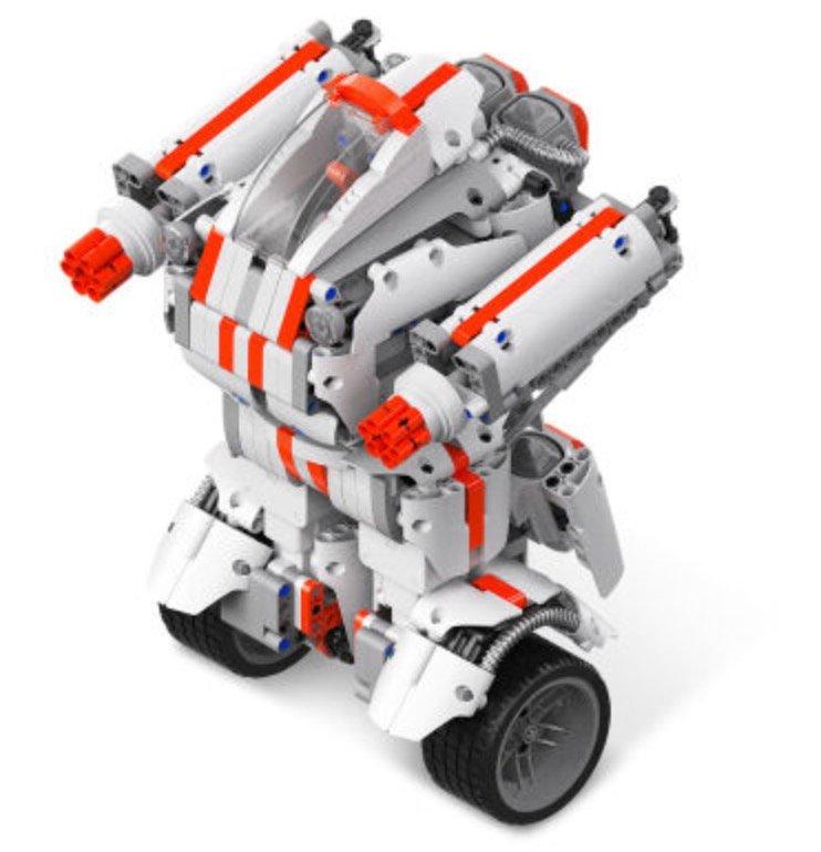 Xiaomi Mi Robot Builder: Spielzeugroboter mit Bluetooth (978 Teile, App Steuerbar, 2x Servo Motor) für 74,89€