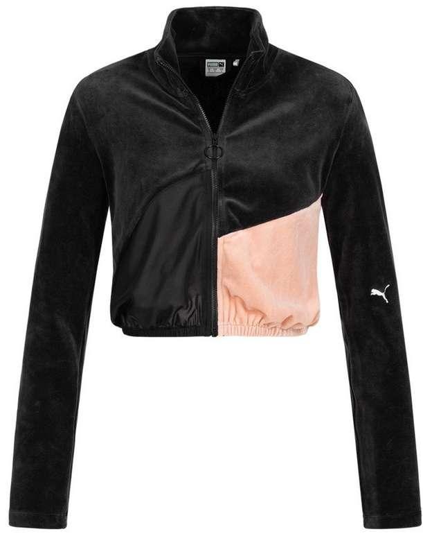 "Puma ""Rive Gauche"" Full Zip Damen Crop Trainingsjacke für 29,94€ (statt 50€)"