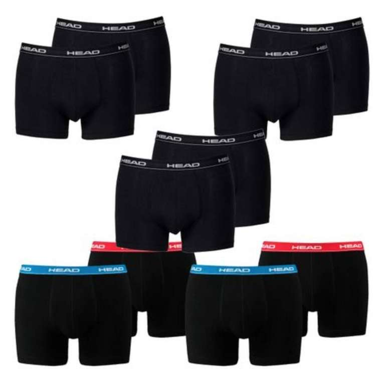 10er Pack Head Basic Boxershorts in verschiedenen Farben für 31,99€ (statt 38€)