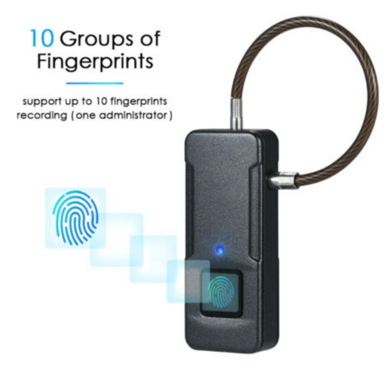 China-Gadget: Smartes Fingerabdruck Schloss L7L8 für 13,99€ inkl. Versand