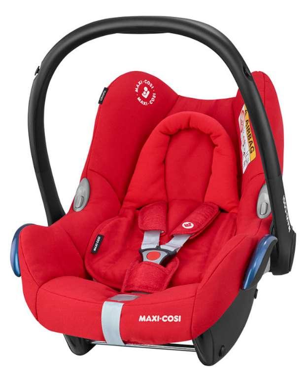 Maxi-Cosi Babyschale CabrioFix in Nomad Red für 73,99€ inkl. Versand (statt 103€)