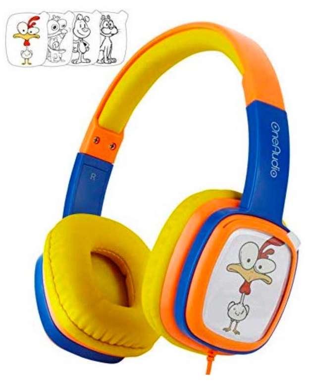 OneOdio - Kopfhörer für Kinder mit Gehörschutz (85db Lautstärkebegrenzung) für 3,25€ mit Primeversand (statt 11€)