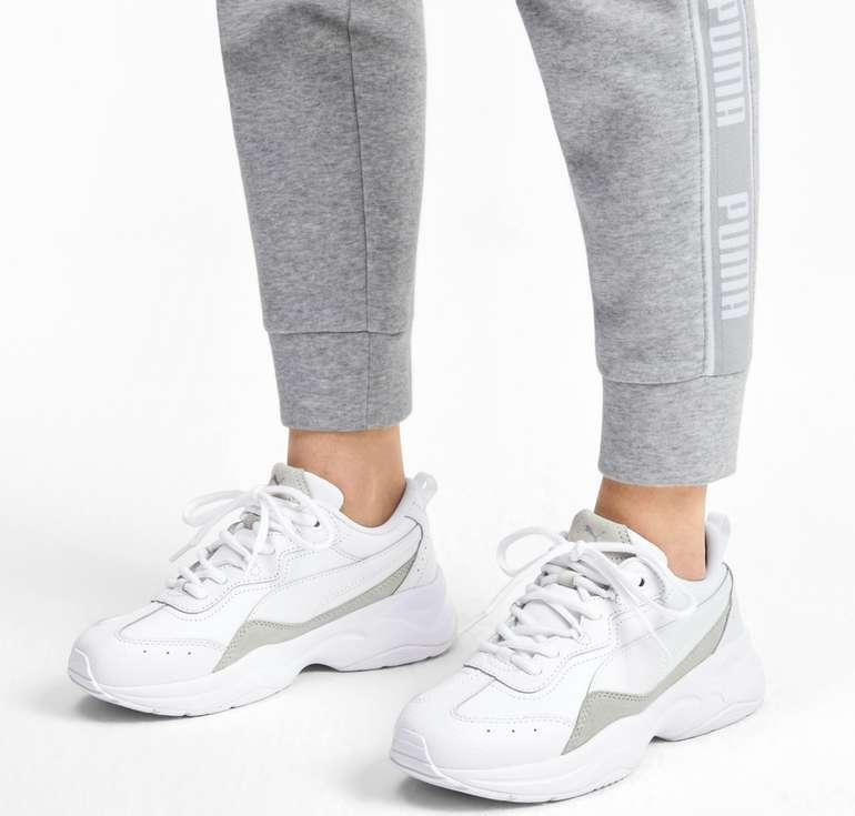 Puma Cilia Lux Damen Trainingsschuhe in Weiß für 33,56€ inkl. Versand (statt 48€)