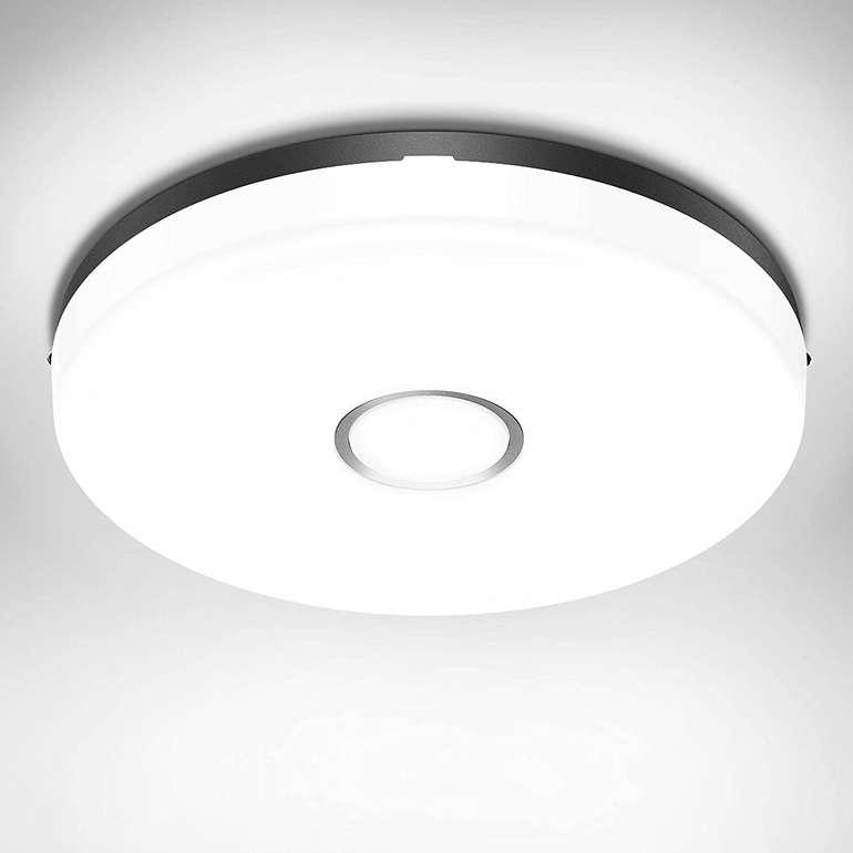 Olafus 18W LED Deckenleuchte (IP54, 5000K) für 9,98€ inkl. Prime Versand (statt 14€)