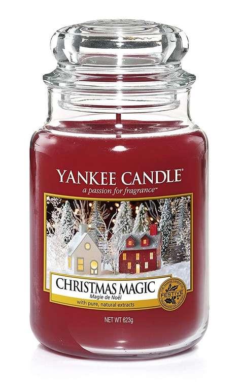 Preisfehler? Yankee Candle Classic Glaskerze Christmas Magic 623g für 6,70€ zzgl. VSK (statt 23€)