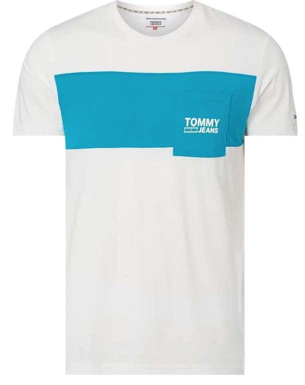 Tommy Jeans T-Shirt aus Bio-Baumwolle mit Brusttasche für 9,09€ inkl. Versand (statt 40€) - Kundenkarte!