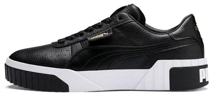 Puma Cali Damen Sneaker im schwarz für 50,40€ inkl. Versand (statt 76€)