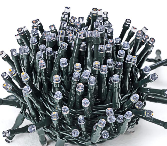 Deuba LED Lichterkette mit 700 LEDs für 19,95€ inkl. Versand