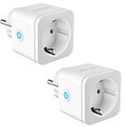2er Pack Teckin WLAN Smart Steckdosen (Alexa & Google Home) ab 17,24€ mit Prime