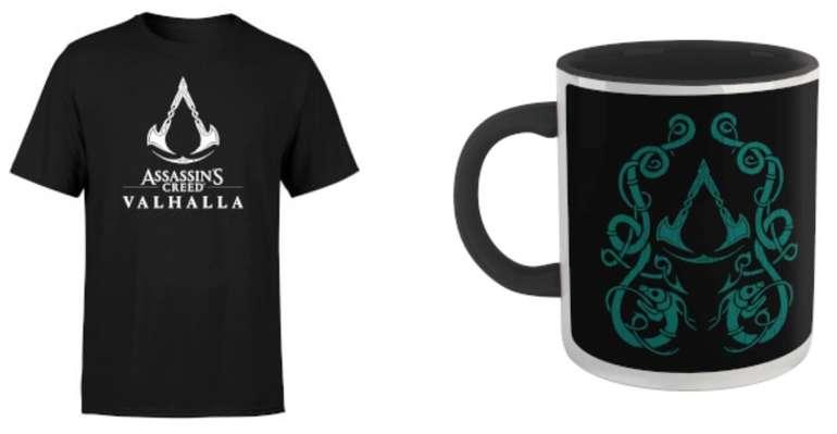 Assassin's Creed Valhalla T-Shirt und Tasse für zusammen nur 11,48€ inkl. Versand (statt 26€)