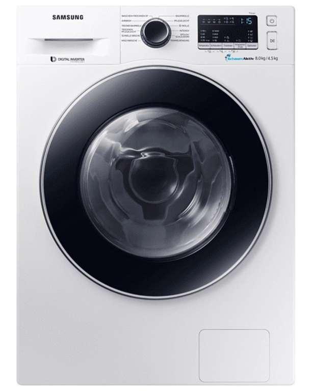 Samsung WD80M4A33JW Waschtrockner (8kg + 4,5kg) für 497,84€ inkl. Versand (statt 592€)