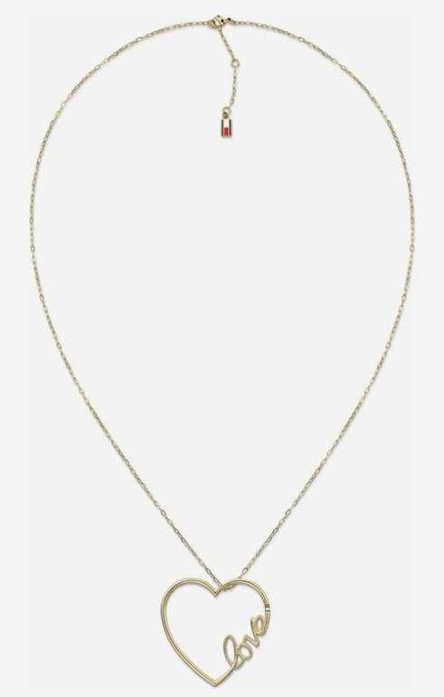 Tommy Hilfiger Herzkette in gold für 34,90€inkl. Versand (statt 50€)