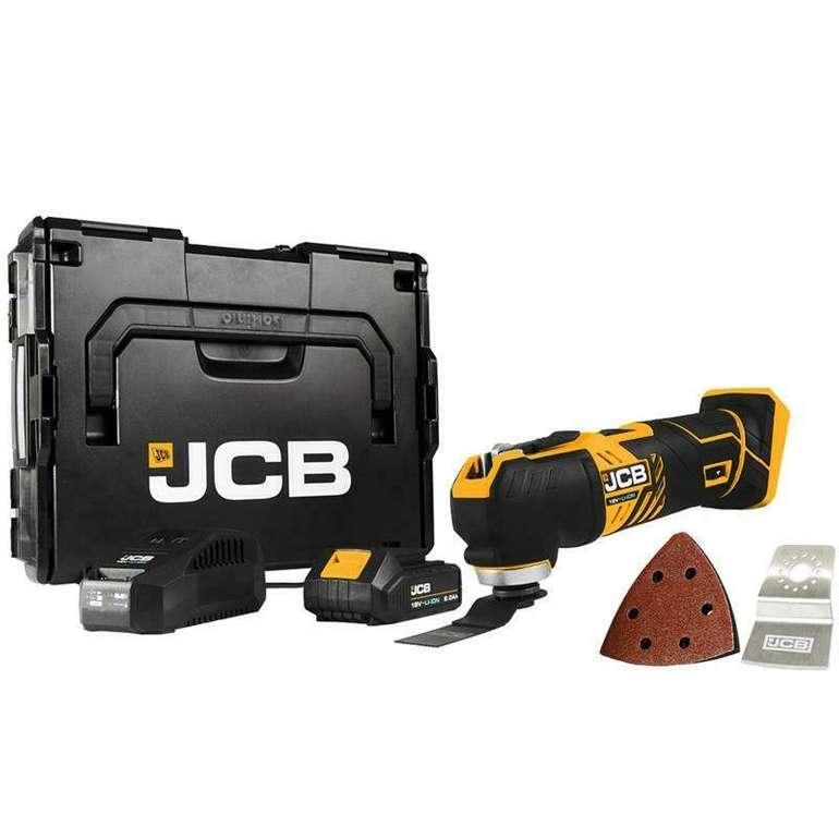 JCB Akku Multifunktionswerkzeug 18V inkl. Ladegerät + L-Boxx für 99,95€ inkl. Versand