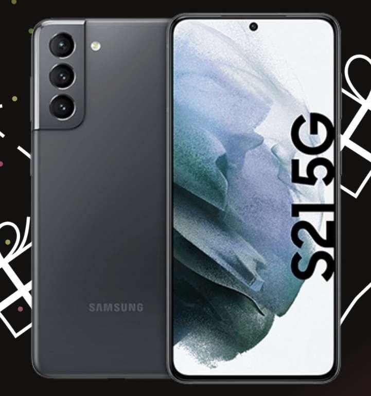 Samsung Galaxy S21 mit 128GB Speicher + Buds (99€) + o2 Free M Boost Allnet & SMS Flat + 40GB LTE für 27,99€ mtl.